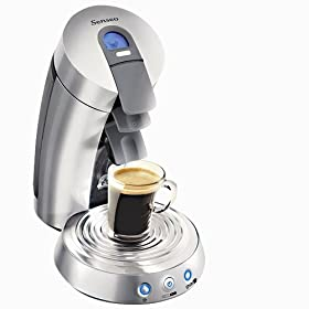Senseo SL7832/55 Single Serve Supreme Coffee Machine, Chrome