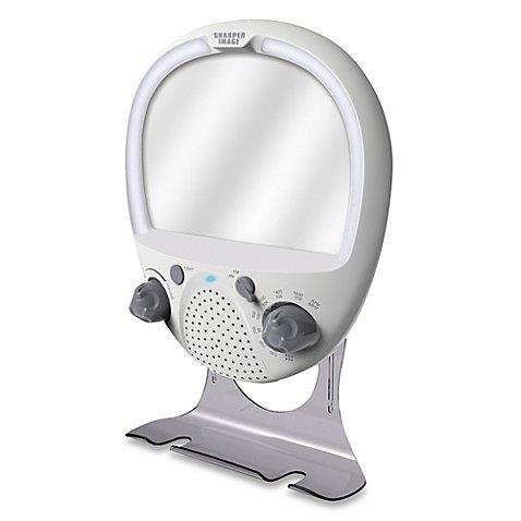 LED Shower Radio and Anti-Fog Mirror (Sharper Image Shower Radio compare prices)