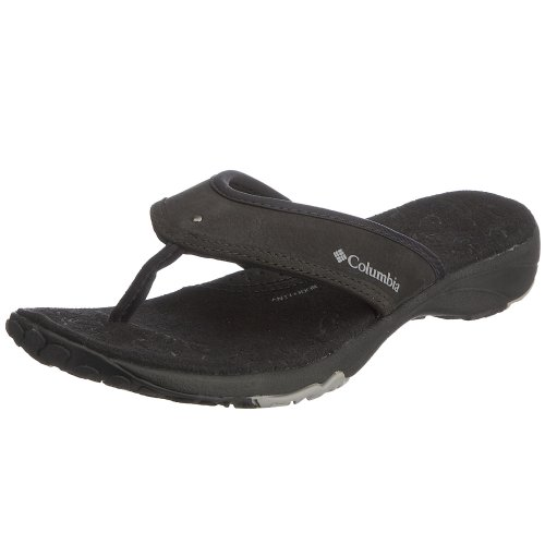 Columbia Women's Kambi Flip Flop Black BL2391 010 9.5 UK