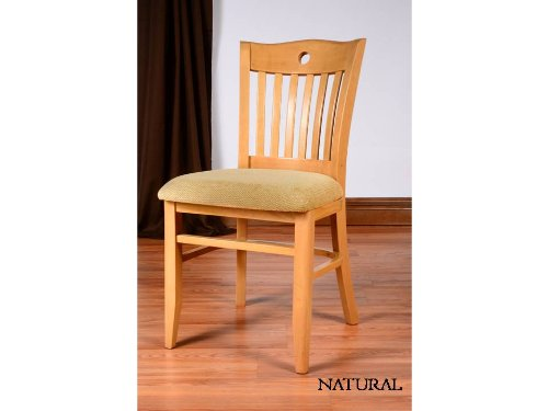 Beechwood mountain fully assembled sweden side chairs in for Kitchen set natural