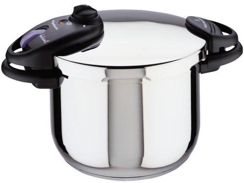 Magefesa Ideal Stainless Steel 6 Quart Pressure Cooker