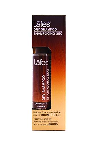Lafes Natural Dry Shampoo, Brunette, 1.7 Ounce