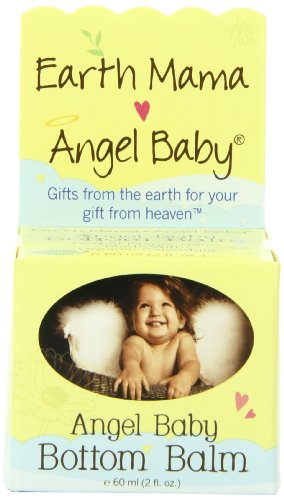 Earth Mama Angel Baby Angel Baby Bottom Balm, 2-Ounce Jar