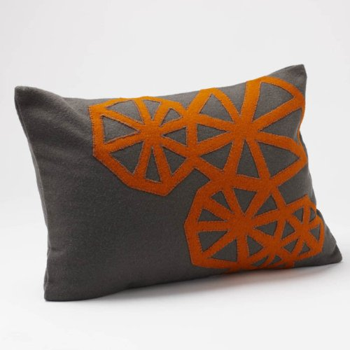 Coyuchi Dec Pillow Pinwheel Applique - 14