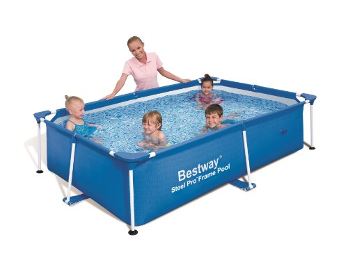 "Bestway 56041 Frame Pool Stahlrahmenbecken 239 x 150 x 58 cm ""Splash Junior"""
