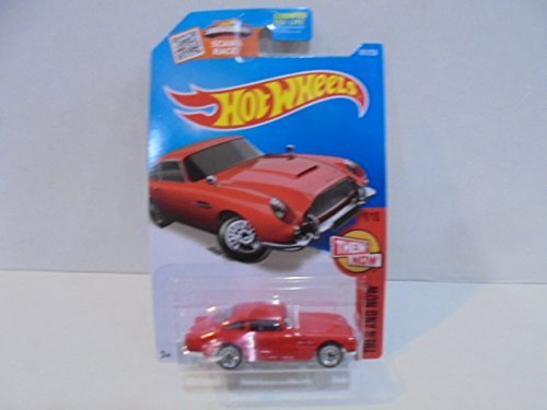Hot Wheels ホットウィール 2016 Then and Now Aston Martin 1963 DB5 [Red] Die-Cast Vehicle #1/10 [並行輸入品]