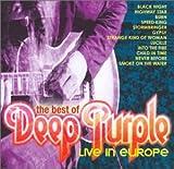 Best of Deep Purple Live in Europe by Deep Purple (2003-05-20)