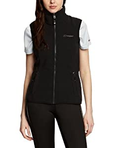 Berghaus Women's Spectrum Fleece Vest - Black/Black, Size 10