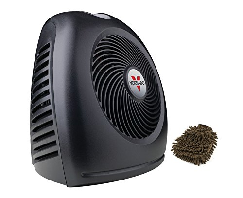 AVH2 Heater, Vornado 1500-watt Whole Room Portable Vortex, Space, Automatic Climate Control (Complete Set) w/ Bonus: Premium Microfiber Cleaner Bundle (Vornado Avh2 Space Heater compare prices)