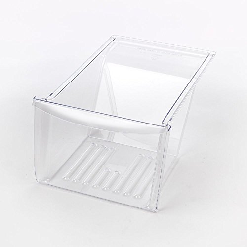 Genuine Frigidaire Refrigerator Crisper Clear Drawer Pan, Vegetable Clear Drawer For Frigidaire, Gibson, Kelvinator, Kenmore, Tappan & White-Westinghouse back-136082