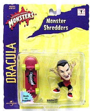 Dracula Monster Shredder Skater with Skateboard