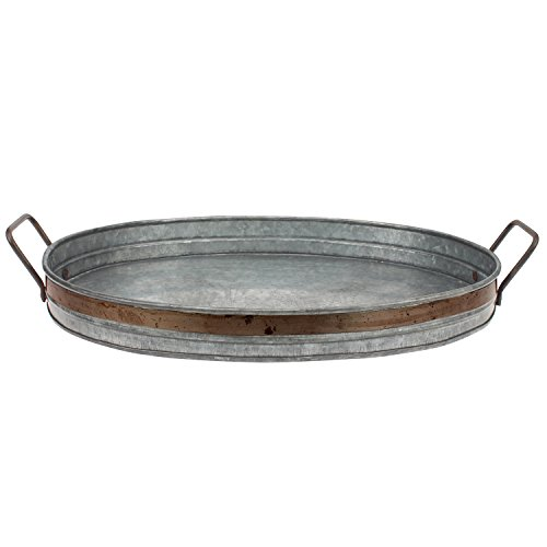 stonebriar-aged-galvanized-tray-with-rust-metal-trim-and-handles