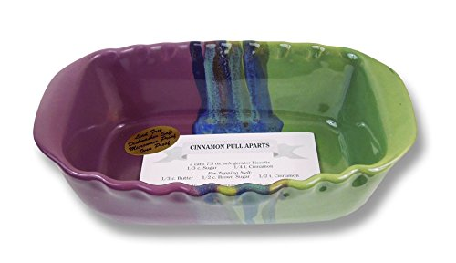 Clay In Motion Handmade Ceramic Loaf Pan - Mossy Creek