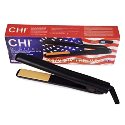 Cheapest CHI Digital Ceramic Flat Iron 1 ea by Farouk Systems, Inc. - Free Shipping Available