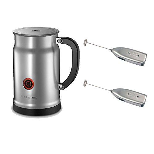 Nespresso 3192-US Aeroccino Plus Milk Frother + Knox Handheld Milk Frother (2) (Nespresso 3192 compare prices)