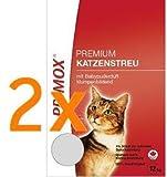 Primox Katzenstreu Sparpack - 2x 12kg (mit Babypuderduft)