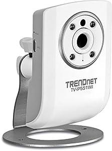 Trendnet - Caméra Internet Jour / Nuit sans Fil N, TV-IP551WI