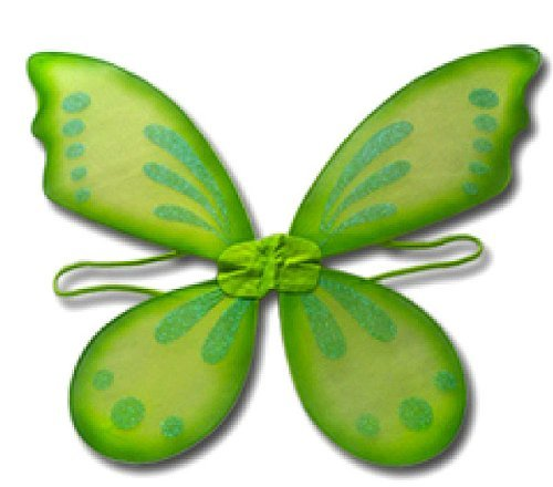 Green Pixie Tinkerbell Style Wings - 1