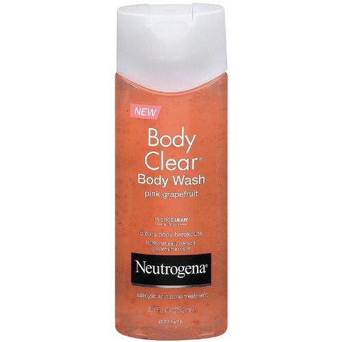 Neutrogena Body Clear Body Wash, Pink Grapefruit, 8.5 Ounces