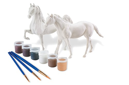 Breyer Paint Your Own Horse Activity Kit - Quarter Horse and Saddlebred