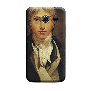 Ebby Premium Printed Back Case Cover With Full protection For Samsung Galaxy Core 2 (Designer Case)