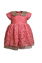 A Little Fable Sequence collar dress 6to7yr