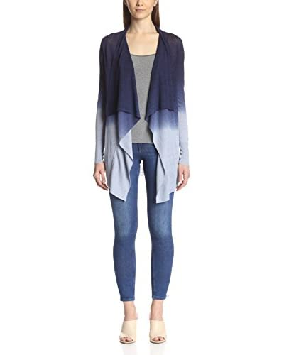 Acrobat Women's Dip Dye Draped Cardigan