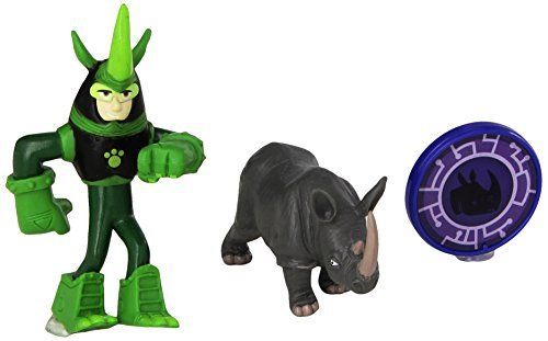 Wild Kratts Toys Animal Power Set - Rhino Powers! Action Figures