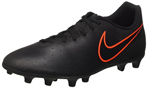 Nike Magista Ola Ii Fg, Scarpe da Calcio Allenamento Uomo, Nero (Black/Black), 45 EU
