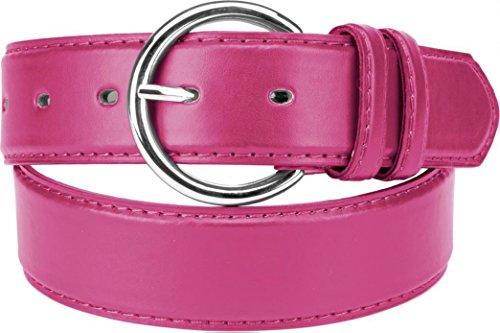 Belle Donne - Women's Solid Color Faux Leather 1.25