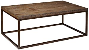 Magnussen T1690-43 Pinecrest Natural Pine Finish Wood Rectangular Cocktail Table