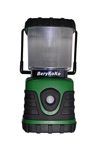 【BeryKoKo】 1年保証 高輝度・長時間発光 600ルーメン LEDランタン 125時間点灯 (Berykoko-0226)