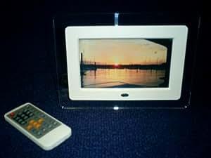 "7"" LCD Digital Photo Frame (Plexiglass Frame)"