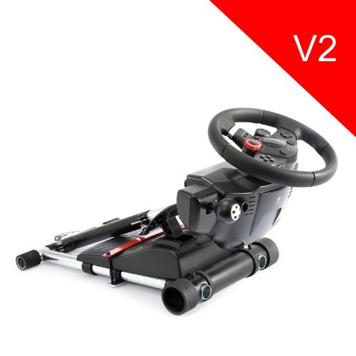 Wheel Stand Pro for Logitech Driving Force GT /PRO /EX /FX wheels - V2 (Not include a handle controller)
