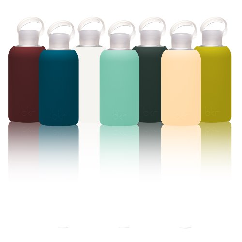 The-Original-Little-bkr-Water-Bottle-Glass-Bottle-Soft-Silicone-Sleeve-500mL