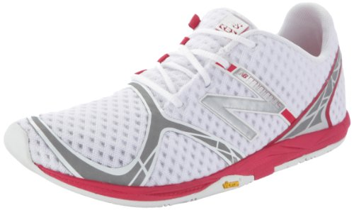 New Balance Women's WR00SP White/Pink Trainer 7.5 UK, 41 EU, 9.5 US B