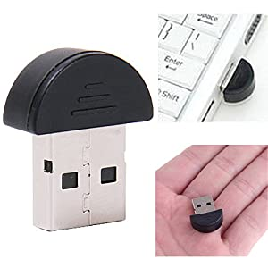 Smallest Bluetooth 2.0 Adapter Dongle (Vista/Windows XP Compatible)