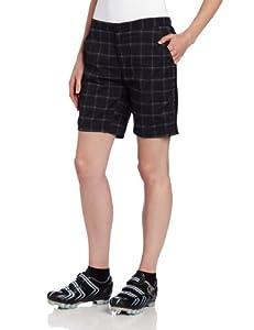 Zoic Ladies Posh Plaid Shorts with Essential RPL Liner by ZOIC