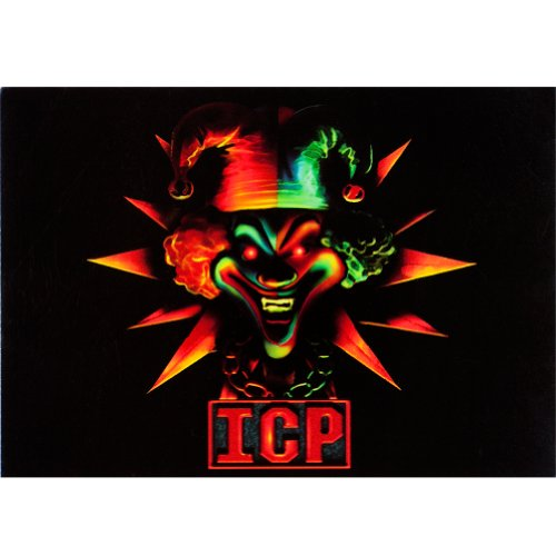 Insane Clown Posse - Jester - Postcard front-1067636