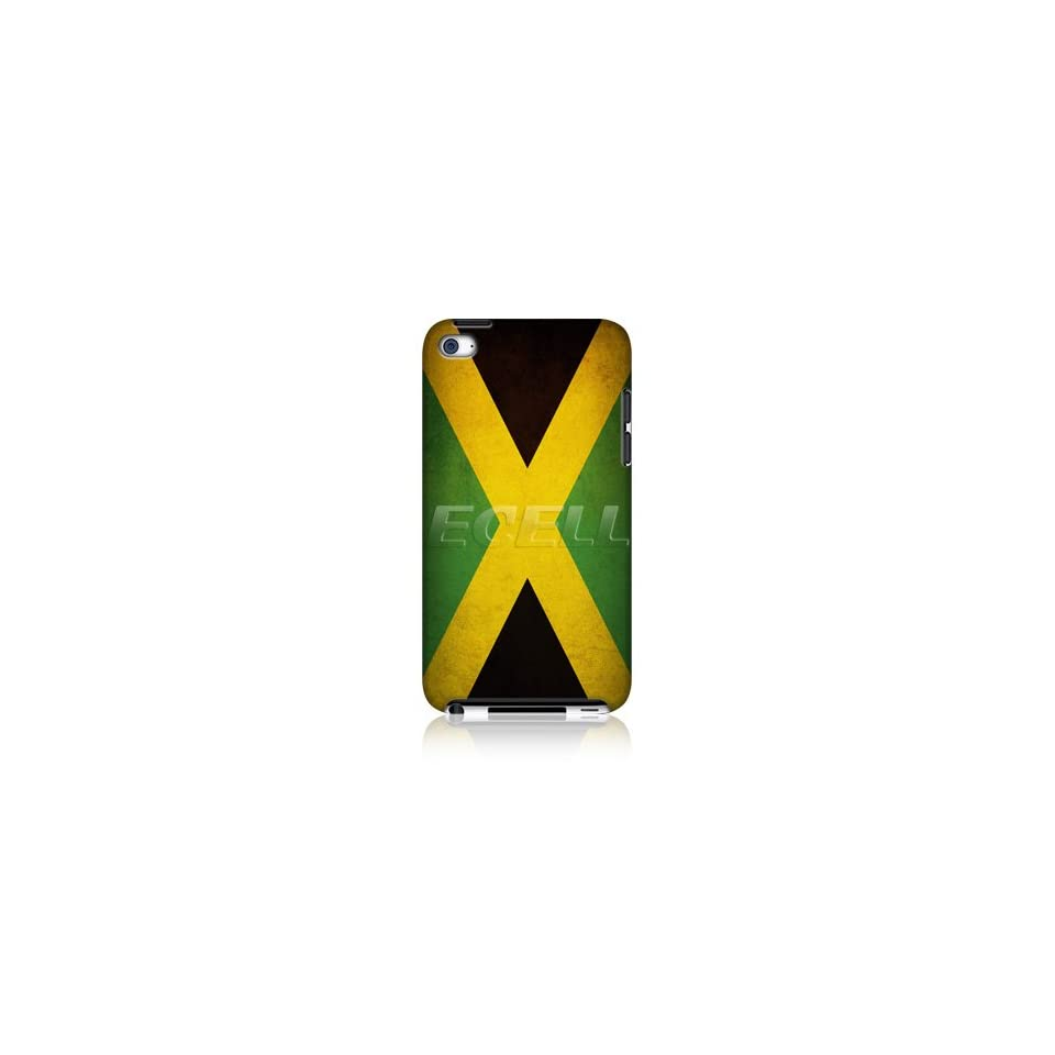 Head Case Designs Jamaica Jamaican Flag Protective Matt Back Case Cover for Apple iPod Touch 4G 4th Gen