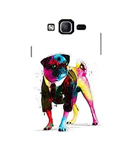 Evaluze dog Printed Back Cover for SAMSUNG GALAXY ON5 PRO 2016