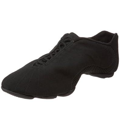 Bloch Women's Amalgam Canvas Dance Sneaker,Black,10 X(Medium) US