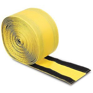 safcord carpet cord cover 4 wide by 30 39 long yellow electronics. Black Bedroom Furniture Sets. Home Design Ideas