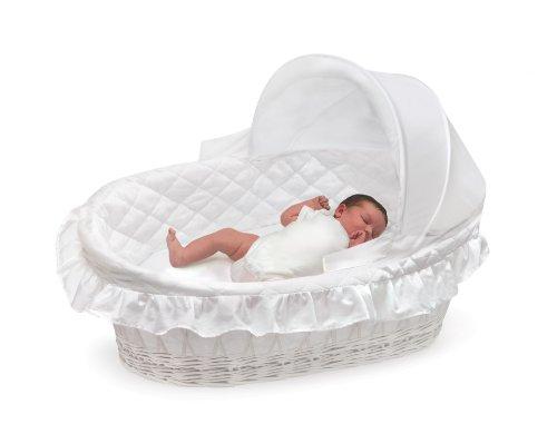 badger basket moiss cesta con capucha y ropa de cama de mimbre with canastos de mimbre para bebes