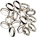 Bulk Buy: Jesse James Dress It Up Wedding Embellishments Wedding Rings 14/Pkg WP42-09 (6-Pack)