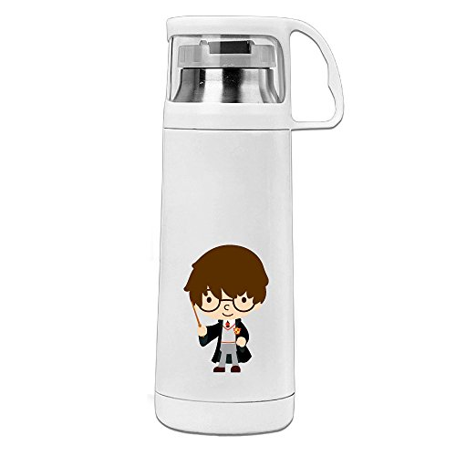 POY-SAIN Harry Potter Cartoon Cute Sport Water Bottle With Handle Vacuum Cup