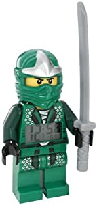 LEGO Unisex 9005763 Ninjago Lloyd ZX Minifigure Clock