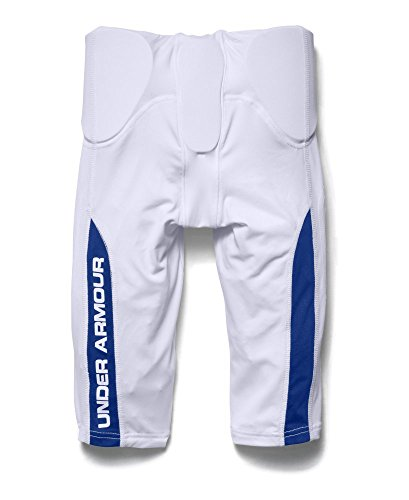 Under Armour Boys Vented Integrated Football Pants White