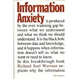 img - for Information Anxiety book / textbook / text book