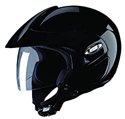 Studds Marshall Open Face Helmet (Black, L)